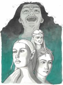 Hexenjagd ist ein Gratis DnD Abenteuer für 4 Spieler der 4. Stufe.