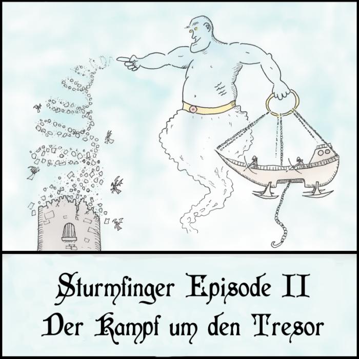 One Shot: Sturmfinger 2 - Der Kampf um den Tresor